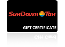Gift Certificate Example